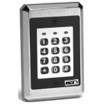9212 Stand-Alone Keypad - Flush Mount, Illuminated, Interior or Exterior Use -  Stand-Alone Keypad for up to 120 users