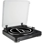 Fully Automatic Belt-Drive Stereo Turntable - Black