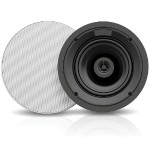 "6.5"" 2-Way 50W RMS 8 Ohm In-Ceiling Speaker Pair"