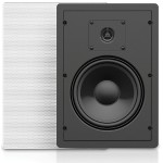 "6.5"" 2-Way 50W RMS 8 Ohm In-Wall Loudspeaker Pair"