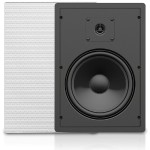 "8"" 2-Way 65W RMS 8 Ohm In-Wall Loudspeaker Pair"