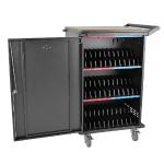 36Port AC Charging Cart Storage Station Chromebook Laptop Tablet