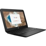 "Chromebook 11 G5 - Education Edition - Celeron N3060 / 1.6 GHz - Chrome OS - 4 GB RAM - 16 GB eMMC - 11.6"" IPS touchscreen 1366 x 768 (HD) - HD Graphics 400 - Wi-Fi, Bluetooth - jack black, ash silver - kbd: US - with  Elite Support"