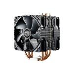 Hyper 212X - Processor cooler - (for: LGA775, LGA1156, AM2, AM2+, LGA1366, AM3, LGA1155, AM3+, LGA2011, FM1, FM2, LGA1150, LGA2011-3, LGA1151, AM4) - aluminum - 120 mm - gray, black