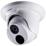 4MP H.265 Low Lux WDR Pro IR Eyeball IP Dome