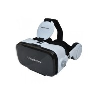 SmartSync Software Virtual Reality Headset with Built-in Stereo Headphones SV-849VR