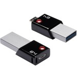 64GB USB3.0 T200 OTG Flash Drive
