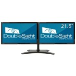 "Dual 21.5"" Monitor Bundle with Easy Stand"