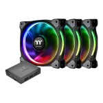 Riing PLUS 12 RGB Fan TT - Premium Edition - system fan kit - 120 mm