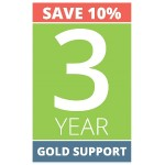 3 Year Gold Support for Combined SVCS1TG2