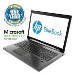 "EliteBook 8770w Intel Core i5-3660M Dual-Core 2.80GHz Mobile Workstation - 16GB RAM, 250GB SSD, 17.3"" HD+ LED, DVDRW, Fast Ethernet, 802.11ac, Bluetooth, 8-cell 83WH Li-Ion - Refurbished"