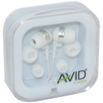 AGILITY model AE-3005 Earphones - White