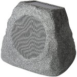"Solar Stone 6.5"" Wireless Rechargeable Rock Speaker"