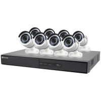 Swann Communications 16-Channel 1080p 2TB DVR with 8 Bullet Cameras SWDVK-164508-US