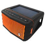 SolJam Solar-Powered Waterproof Speaker - Orange