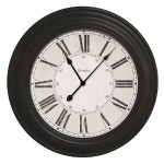 "24"" Large decorative wall clock"