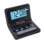 Digital LCD Alarm Clock - Black