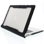 "DropTech Apple MacBook Air 13"" Case - Black/Smoke"