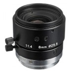 """2/3"""" 8mm F/1.4 High Resolution C-Mount Lens with Lock"""