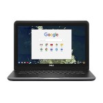 "Chromebook 13 3380 Intel Celeron 3855U Dual-Core 1.6GHz Notebook PC - 4GB RAM, 16GB SSD, 13.3"" HD LCD, 802.11a/b/g/n/ac, Bluetooth 4.0 - Black"