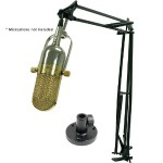 Professional Articulating Desktop Microphone Stand with 12FT XLR cable
