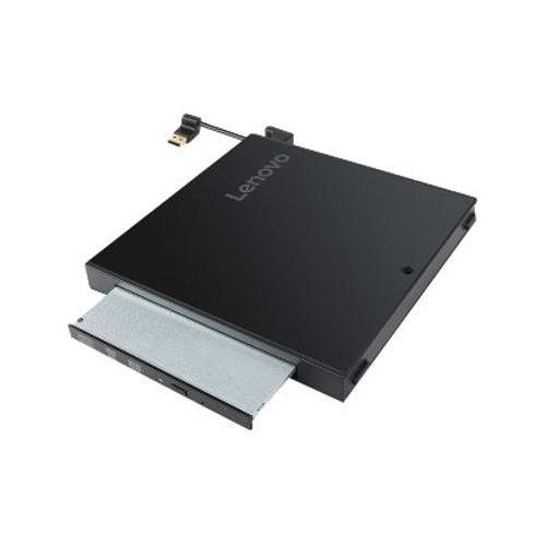 PCM | Lenovo, Tiny IV DVD Burner Kit - Disk drive - DVD-Writer - USB -  external - for ThinkCentre M710q