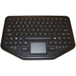 Rugged Dual Connectivity Keyboard with Touchpad