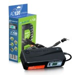 120W Universal AC Adapter - 12V-24V Output Selector, 12 Tips, USB, LCD Indicator