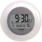 Atomic Wall Clock with Thermometer
