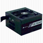 TX-M Series TX750M - 750 Watt 80 Plus Gold Certified PSU