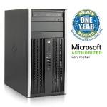 Pro 6200 MT Desktop - Intel Core i5-2400 3.1GHz, 8GB DDR3, 1TB HDD, DVDROM, Windows 10 Pro, Microsoft Authorized Refurbished (Off-Lease)
