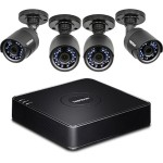 4-Channel HD CCTV DVR Surveillance Kit