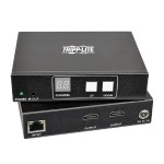 2-Port HDMI Audio/Video with RS-232 Serial and IR Control over IP Extender Kit, 1920x1080 (1080p), 656ft (200m), TAA