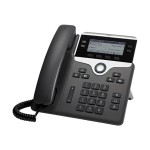 IP Phone 7841 - VoIP phone - SIP - 4 lines