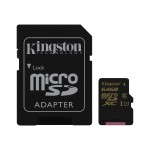 64GB microSDXC Class U3 UHS-I 90R/45W + SD Adapter