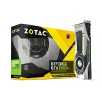 GeForce GTX 1080 Ti Founders Edition - Graphics Card - 11GB GDDR5X - PCI-E 3.0 - 3x DisplayPort, HDMI