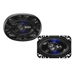 "BE464 - Speakers - for car - 125 Watt (total) - 4-way - 4"" x 6"""