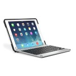 Brydge 9.7 Bluetooth Keyboard - Silver with OtterBox uniVERSE Case
