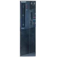 Lenovo ThinkCentre M78 AMD Dual-Core A4-5300B 3.40GHz Small Form Factor PC - 4GB RAM, 250GB HDD, DVD, Gigabit Ethernet - Refurbished RB-720089830205