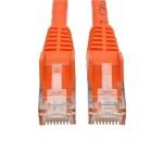 15ft RJ45 M/M Cat6 Gigabit Snagless Molded UTP Patch Cable - Orange