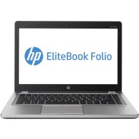 "HP Inc. EliteBook Folio 9470m Ultrabook - Intel Core i5-3437U with Intel HD Graphics 4000 1.9 GHz, 8GB RAM, 128 GB SATA SSD, 720p HD webcam, Gigabit Ethernet, 14"" diagonal LED-backlit HD anti-glare (1366 x 768), Windows 10 Pro 64-bit - Refurbished PC5-0853"