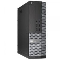 Dell 7010 i5-3470 3.2GHz (up to 3.6GHz) 8GB DDR3, 2TB HDD, DVD, TPM 1.2, Intel vPro, (2) DisplayPort, VGA, Serial, USB 3.0, SFF W10P, Microsoft Authorized Refurbished (Off-Lease) M-OLDEL70103.2I582T