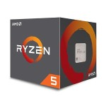 Ryzen 5 1600 6-core/12-thread, 65W, Socket AM4, 19MB Cache, 3600MHz with AMD Wraith Spire Cooler