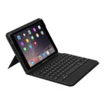 Messenger Folio - Keyboard and folio case - Bluetooth - English - US - for Apple iPad mini 4
