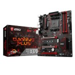 X370 GAMING PLUS - AMD Ryzen X370 - DDR4 - VR Ready - HDMI - USB 3.0 - ATX Gaming Motherboard