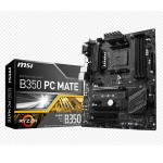 B350 PC MATE 64G DDR4 AMD RYZEN 7th Generation A-series/Athlon AM7 ATX Motherboard