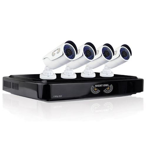 Night Owl AHD10-841 8ch 4cam 1080p Cam 1TB - Refurbished
