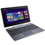 "Transformer Book T100TA Laptop - Intel Bay Trail-T Z3775 1.46GHz, 2GB RAM, 64GB eMMC, 10.1"" Touchscreen 1366x768, 1x USB 3.0, Bluetooth, Win 8.1 32-bit - Refurbished"