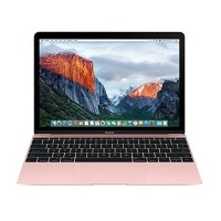"Apple MacBook 12"" with Retina Display, Intel 1.1GHz Dual-Core Intel Core m3 processor, 8GB RAM, 256GB PCIe-based flash storage & Intel HD Graphics 515 - Rose Gold - Early 2016 (Open Box Product, Limited Availability, No Back Orders) MMGL2LL/A-OB"