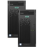 2x Smart Buy ProLiant ML10 Gen9 Intel Core i3-6100 Dual-Core 3.70GHz Tower Server - 4GB RAM, no HDD, DVD-RW, Gigabit Ethernet Bundle